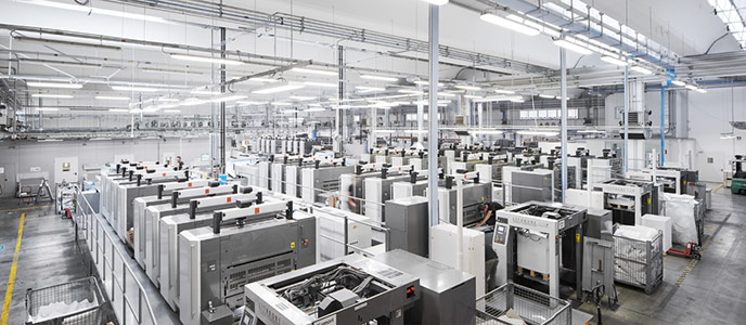 آماری از بزرگی صنعت چاپ در جهان