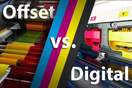 تفاوتهای چاپ افست و دیجیتال